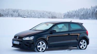 Volkswagen Polo R black static