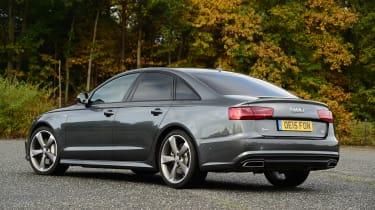 Audi A6 rear quarter