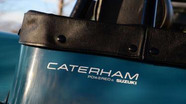 Caterham 7 160 badge