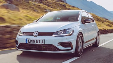 VW Golf GTI & R Mountune  front tracking