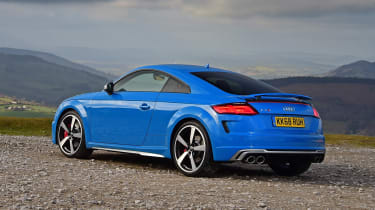 Audi TTS - rear static