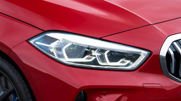 BMW 120d - headlight