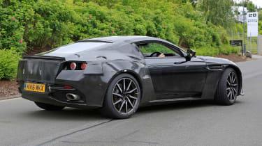 Aston Martin V8 Vantage spy shot - rear quarter
