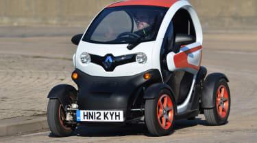 Renault Twizy Technic front cornering