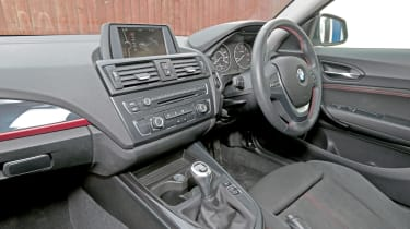 Used BMW 1 Series - dash