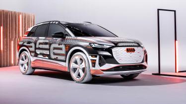 Audi Q4 e-tron - front
