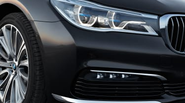 New 2015 BMW 7-Series front lights