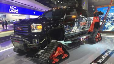 Detroit Motor Show - GMC Sierra 2500HD All Terrain X All Mountain Concept