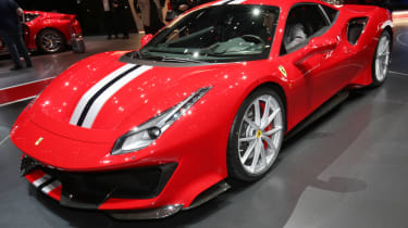 New Ferrari 488 Pista front