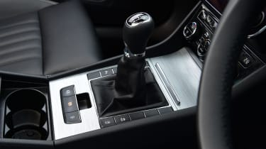 Skoda Superb - gear lever