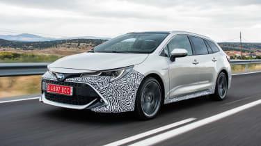 Toyota Corolla Touring Sports prototype - front