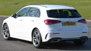 Mercedes A-Class long-term test review - rear cornering