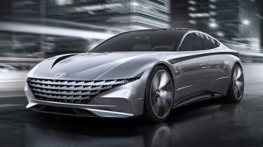 Hyundai Le Fil Rouge concept - front