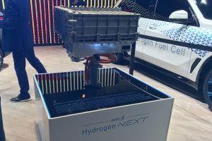 BMW i Hydrogen NEXT - Frankfurt battery