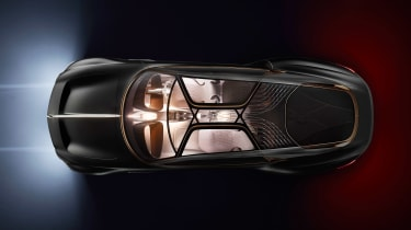 Bentley EXP 100 GT concept - above night