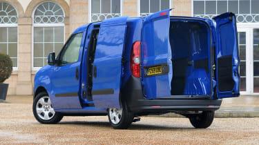 Fiat Doblo Cargo left side doors open