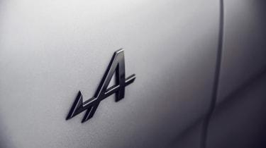 Alpine A110S - badge