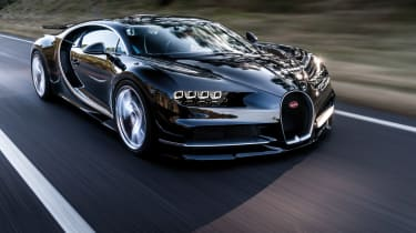 Bugatti Chiron 2016 - Dynamic Front Three Quarters