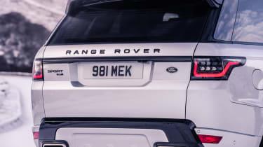 Range Rover Sport HST - rear detail