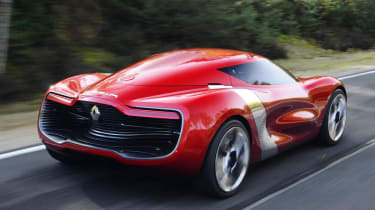 Renault DeZir rear track