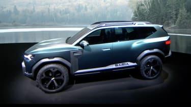 Dacia SUV reveal