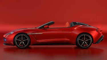 Aston Martin Vanquish Zagato Speedster - side