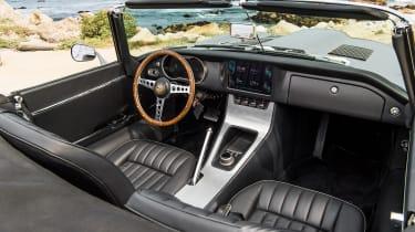 Jaguar E-Type Zero prototype - interior