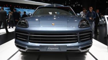 Porsche Cayenne - Frankfurt full front