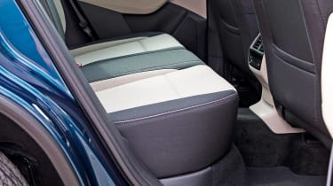 Skoda Karoq - rear seats