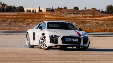 Audi R8 RWS - front drift