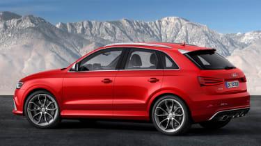 Audi Q3 RS rear side