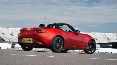 Mazda MX-5 rear 3/4