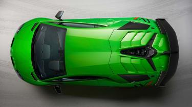 Lamborghini Aventador SVJ - above