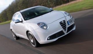 Alfa Romeo MiTo Cloverleaf front tracking