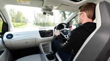 Volkswagen up! - long termer first report Sean Carson driving