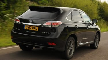Used Lexus RX - rear