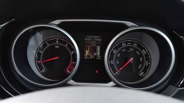 MG GS vs rivals -  MG GS dials