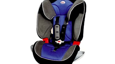 Full seats: Britax Evolva 23/ 123 Ultra £65/£130Offered in a choice of eight colours, the 23 suits children aged 3-11 years old, while the costlier 123 gets a removable harness for those over nine months. In top Ultra form
