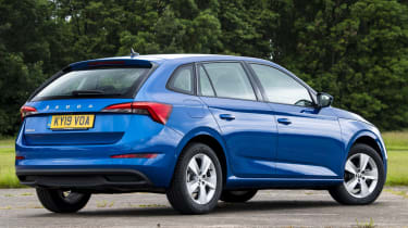 Skoda Scala rear static