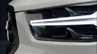 Volvo XC40 leaked - front light