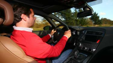 Citroen DS5 driving