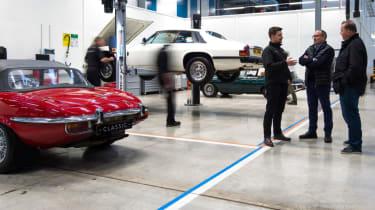 Jaguar XJS white