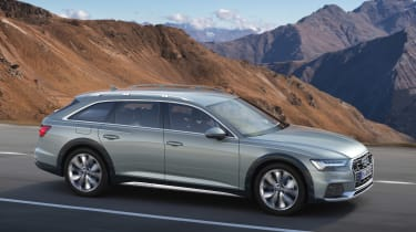 Audi A6 allroad quattro - front action