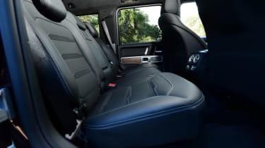 Mercedes G-Class - rear seats