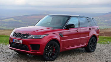 Range Rover HST - front static
