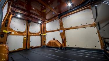 Ford Transit Custom PHEV 6m3 load area
