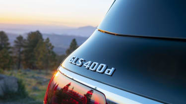 2019 Mercedes GLS badge