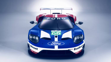 New Ford GT Le Mans car nose