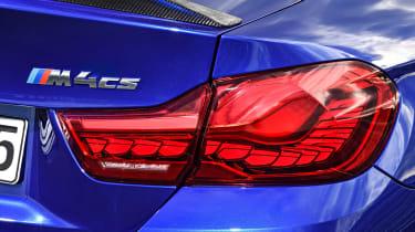 BMW M4 CS 2017 light