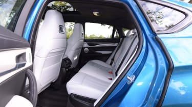 It's no X5, but the X6M still provides decent space and a large – if a little compromised – boot.